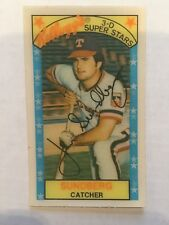 1979 Kellogg's 3-D Super Stars Texas Rangers Jim Sundberg