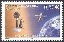 Andorra 2003 Telefono/comunicazioni via satellite// URBANI/spazio 1v (n42670)