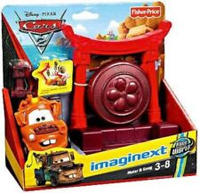 Fisher Price Disney Cars Cars 2 Imaginext Mater & Gong Exclusive Playset