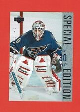 1995-96 Upper Deck SPECIAL EDITION Insert # SE87 Jim Carey CAPITALS GOALIE
