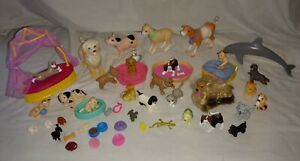 Huge lot of Barbie Pets- dogs-cats- animals / accessories