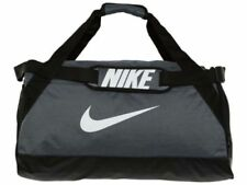 00963f73ef226 Nike Brasilia 6 Gym Training Duffel Bag Grey Black Size Medium