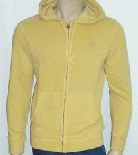 American Eagle Outfitters Mens Muted Yellow Hoodie Sweatshirt Jacket 2xl