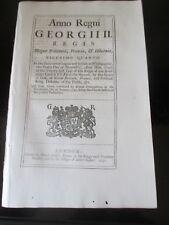 1751 ACT OF PARLIAMENT AN ACT TO ENABLE HIS MAJESTY HIS DUCHY OF CORNWALL