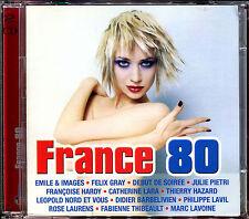 FRANCE 80  - TUBES 80'S VARIETE FRANCAISE - 2 CD COMPILATION [1461]
