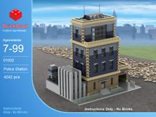 LEGO® Custom Modular Instructions - Police Station 01002