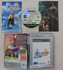 JEU PAL PLAYSTATION 2 PS2 FINAL FANTASY X COMPLET FRA