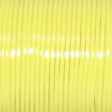 100 YARDS (91m) SPOOL SOFT YELLOW REXLACE PLASTIC LACING CRAFTS CYBERLOX