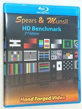 Spears & Munsil HD Benchmark 3D Blu-ray 2nd Edition NEW