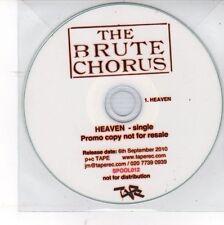 (DV53) The Brute Chorus, Heaven - 2010 DJ CD