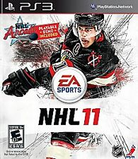 NHL 11 (Sony PlayStation 3, PS3 2010) Manual included