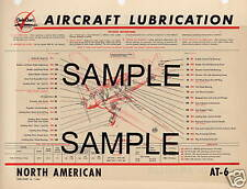 PORTER COLLEGIATE AIRCRAFT LUBRICATION CHART CC