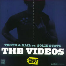 "(NEW) CD TOOTH & NAIL VS SOLID STATE ""THE VIDEOS"" RARE RECORDS PROMO UNDEROATH++"
