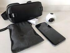Samsung Galaxy S7 edge - 32GB - Black Onyx (Sprint) Smartphone VR 360 BUNDLE