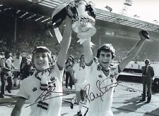 """WEST HAM-1980 FA Cup-16x12""""  PHOTO SIGNED by RAY STEWART & GEOFF PIKE-AFTAL/UACC"""