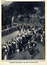 Vizekönig Lord Minto & Sir O'Moore mit Gefolge Historische Aufnahme von 1910