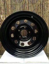 15x10 ET-32 BLACK DEEP DISH MODULAR STEEL WHEELS x4 LAND ROVER DISCO 2  5.120