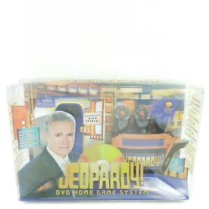 New Jeopardy DVD Home Game System Trivia Family Entertainment Quiz Show Trebek