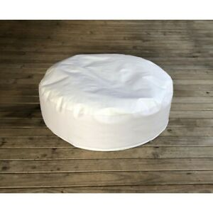 NEW Newborn Posing BeanBag for Baby Photography, Travel Size, 84x20cm, White