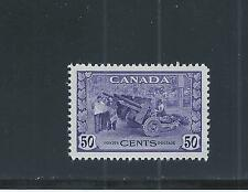 CANADA KING GEORGE VI WAR ISSUE 50 CENTS MUNITIONS FACTORY ### 261 MH  SALE