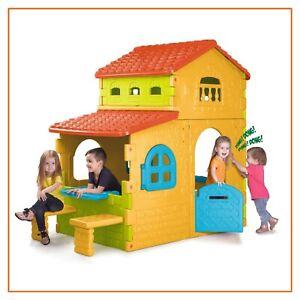 casa casetta per bambini 3 anni da giardino esterno GRANDE VILLA feber