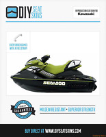 RXP Seat Cover Skin Sea Doo GREEN GSX GSI GS SP SPI SPX 99 00 01 02 03 04 05 *