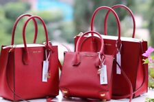 Michael Kors Mercer Medium Leather Tote random colours available