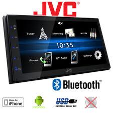 JVC KW-M25BT - 2-DIN Bluetooth MP3 USB Car Radio 4x50Watt Amplifier 12V