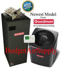 2.5 ton 14 SEER HEAT PUMP 410a Goodman System GSZ140301+ARUF31B14