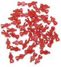 LEGO LOT OF 50 NEW SMALL DARK RED STATUES TROPHY STATUETTE PIECES