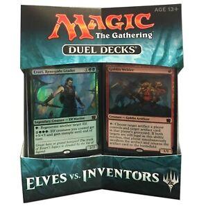Magic the Gathering - Elves vs Inventors Factory Sealed Duel Deck MTG Free Ship