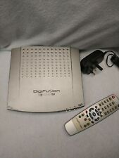 DigiFusion FRT 101 Digital Freeview Box With Remote control