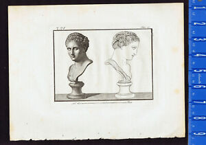 Berenice II, Queen of Egypt and Cyrene - Piroli 1805 Copper Engraving