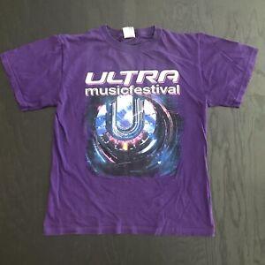 2014 Ultra Music Festival Miami T-shirt S EDM Electronic DJ Diplo Avicii