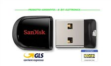 PENDRIVE CHIAVETTA USB PENNA SanDisk 2.0 Ultra Fit Flash Drive usb Stick 16 GB