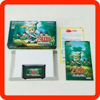 [EXC BOXED] The Legend of ZELDA Minish Cap Japan GBA Game Boy Advance Nintendo