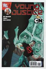 Young Justice 1 DC 2011 NM Superboy Robin Kid Flash Aqualad