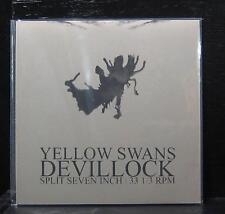 "Devillock / Yellow Swans - Split 7"" Vinyl MINT- Modern Radio 2006 MRRL #34"