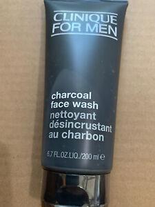 Clinique for Men Charcoal Face Wash 6.7 oz / 200 ml New
