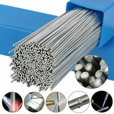 New listing 100pcs Easy Melt Welding Rods Low Temperature Aluminum Wire Brazing 1.6Mm x 50Cm