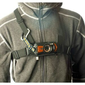 Pentax Sport Mount Chest Harness Two Wide Adjustable Shoulder Straps Black NEW