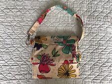 LillyBit Floral Print Diaper Bag Small Corduroy Interior 20�
