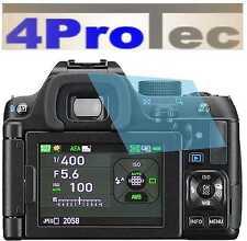 2x trasparente LCD protezione schermo protezione de pantalla per Pentax K-70