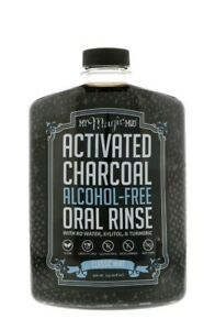 Activated Charcoal Alcohol-Free Oral Rinse Classic Mint  My Magic Mud