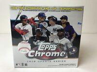 2020 Topps Chrome Update Series MLB Baseball Mega Box 2019 Topps & Bowman Plati