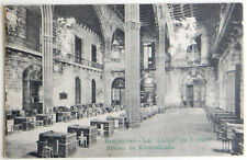 """Esperanto – ak 5-a Universala Kongreso barcelona 1909 – la """"Llotja"""" – gel."""
