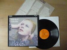 David Bowie – Hunky Dory, LP, UK 1971, insert, SF 8244, Vinyl: m-