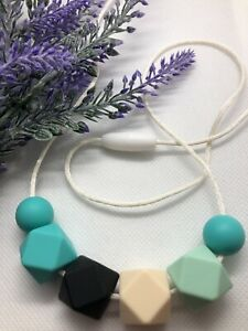 Silicone Necklace Australia for Mum Was Teething Sensory Turquoise Gift Aus