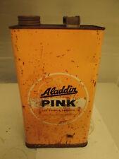 Aladdin gallon paraffin tin. motor oil. Shell. Esso.BP. garage.