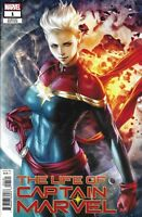 The Life Of Captain Marvel Comic Issue 1 Limited Artgerm Variant Modern Age 2018
